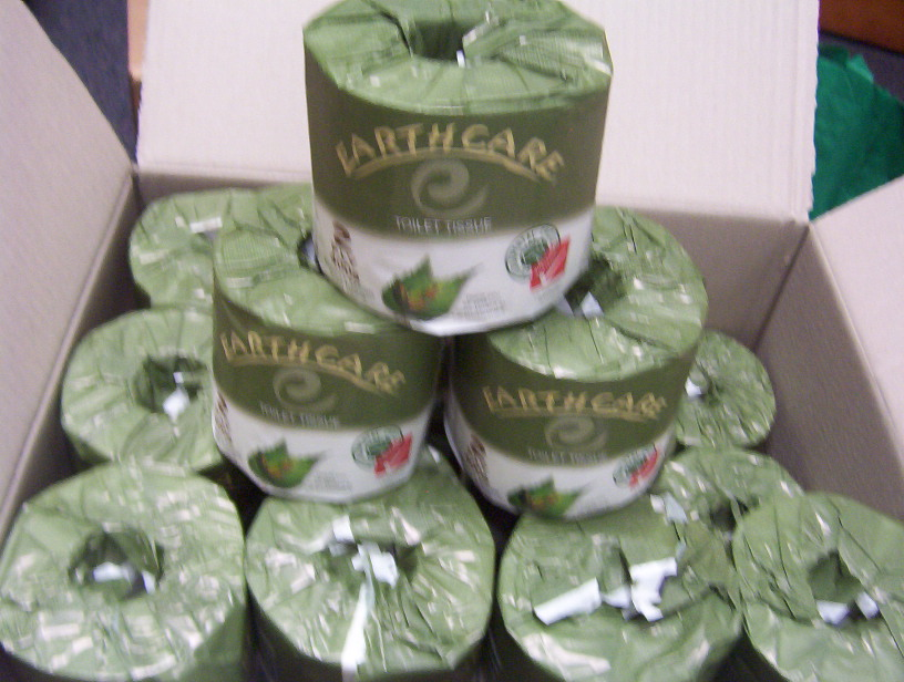 Earthcare 400 Sheet Toilet Tissue X48 Rolls Clean Biz
